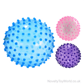 Clear Inflatable PVC Spike Balls (21cm)